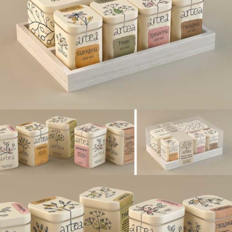 Packaging 3D Render
